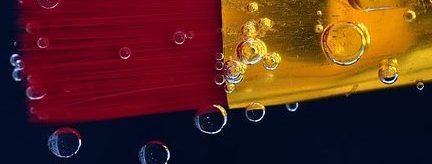 Verklebte Pinsel reinigen Farbe