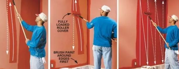 10 streichen tipps richtig streichen mit profi tipps. Black Bedroom Furniture Sets. Home Design Ideas